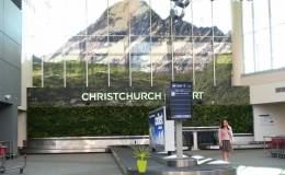 Christchurch International Airport - Oasis Living Wall